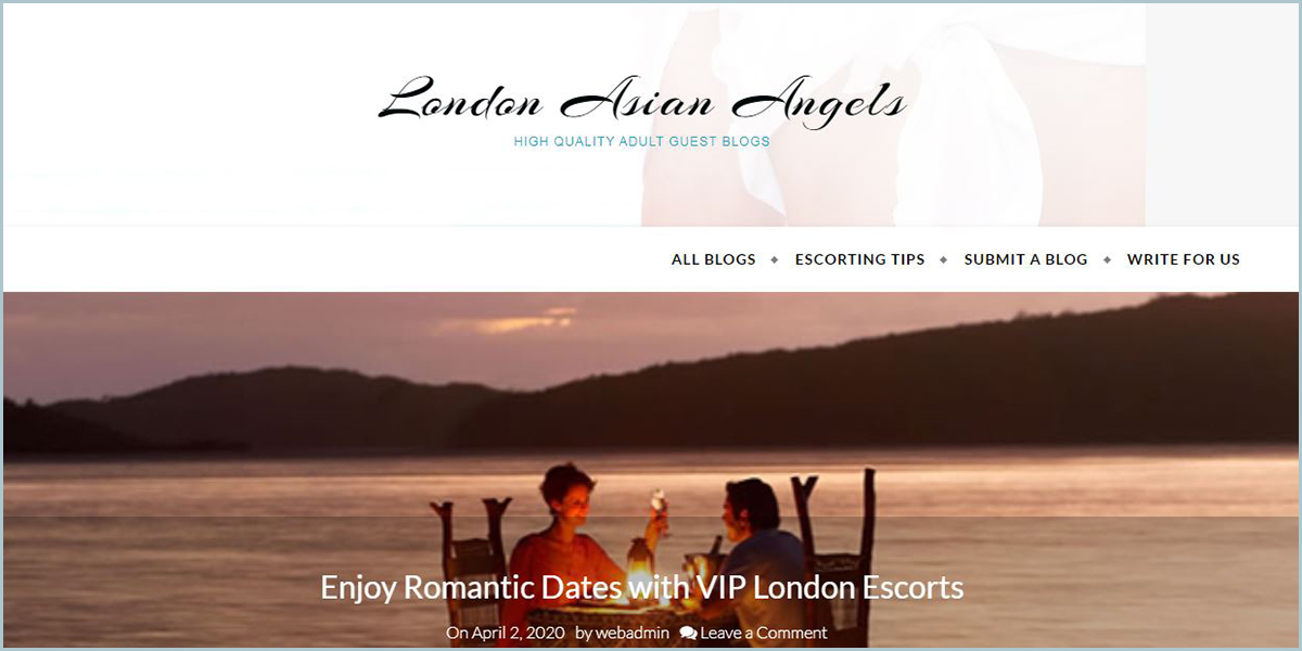 London Asian Angels - Free Adult Guest Blogs