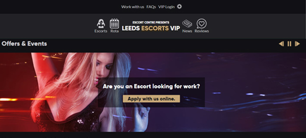 LEEDS ESCORTS VIP