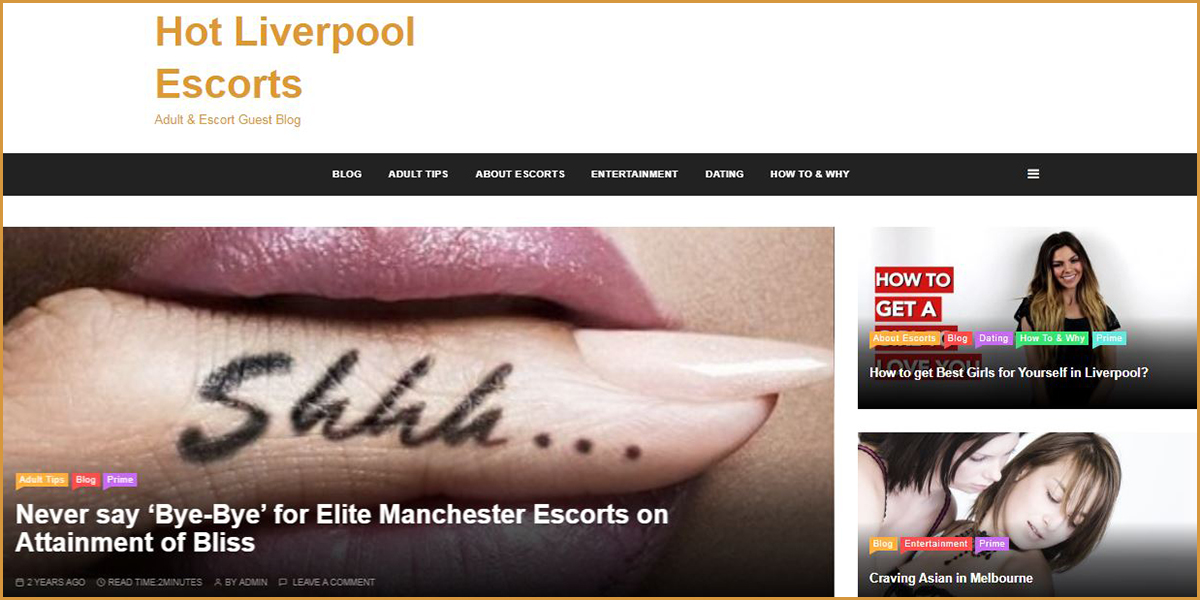 Hot Liverpool - Free Adult Guest Blogs