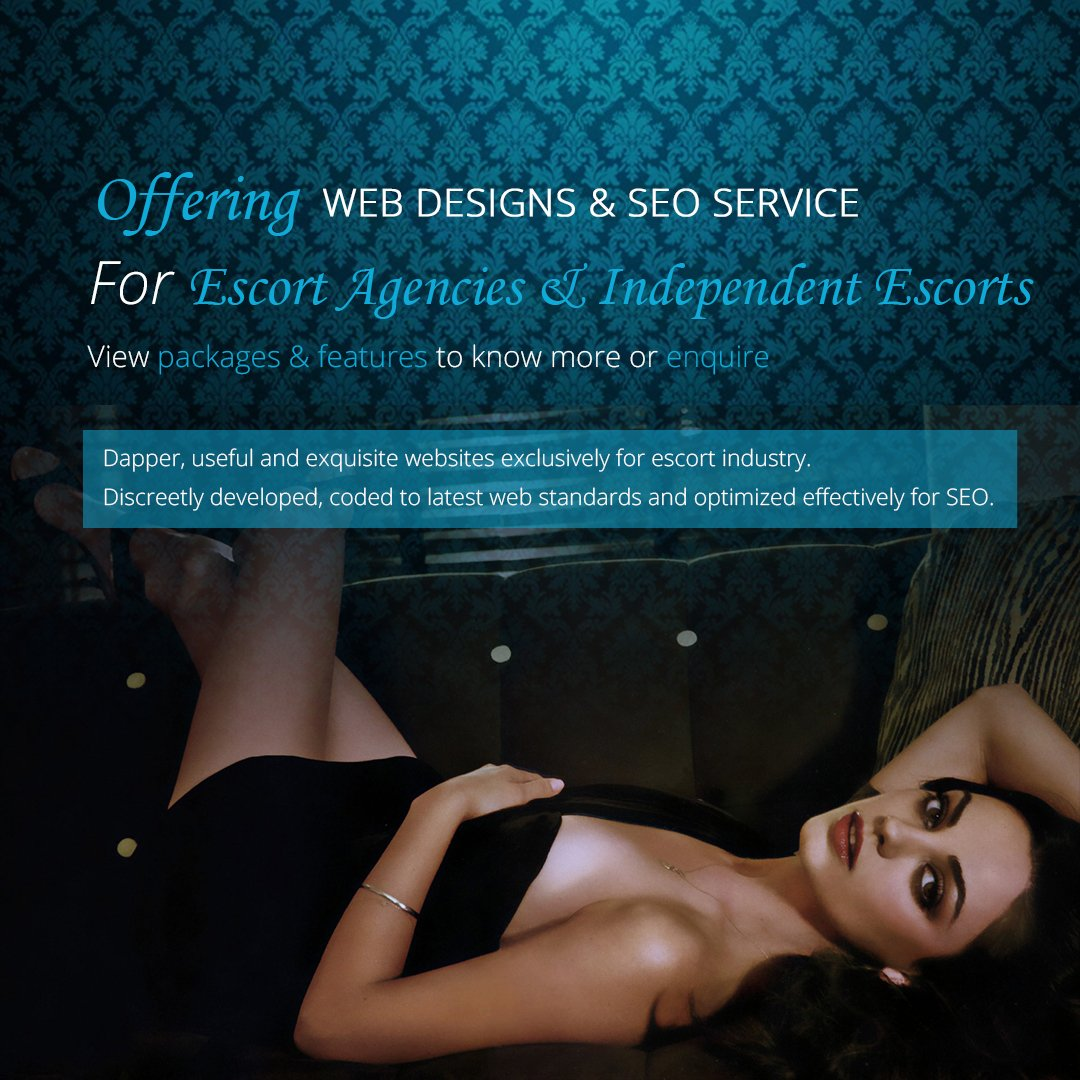 Suave Escort Website Design Company